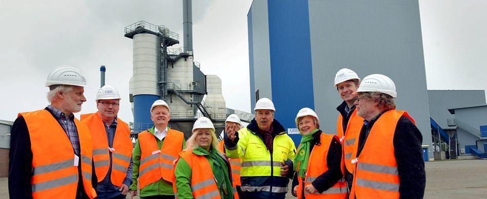 Besuch des Biomassekraftwerks in Goch
