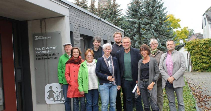 """Besuch bei """"SOS-Ausbildung-und-Beschäftigung"""""""