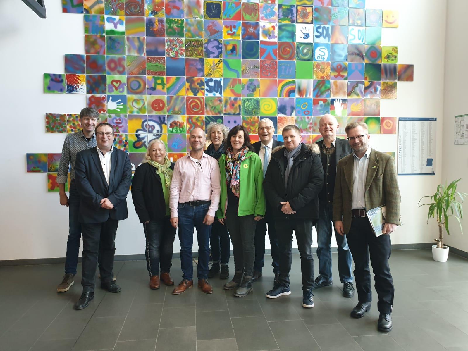 Besuch der GRÜNEN bei Wystrach: Wasserstoff als einen wichtigen Baustein der Energiewende fördern