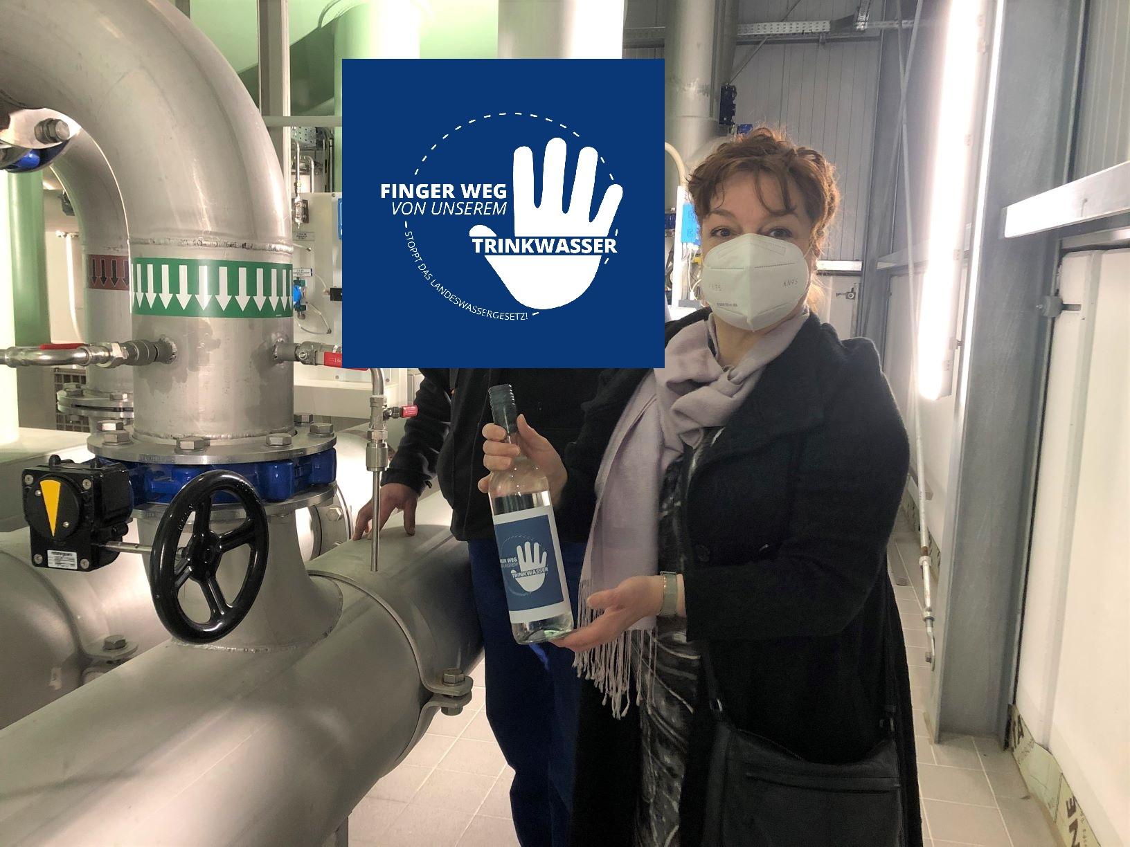 Finger weg von unserem Trinkwasser!